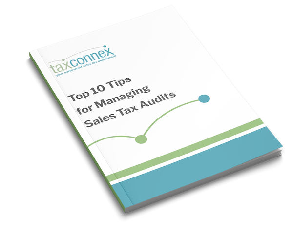 Top 10 Tips for Managing Sales Tax Audits - Cover
