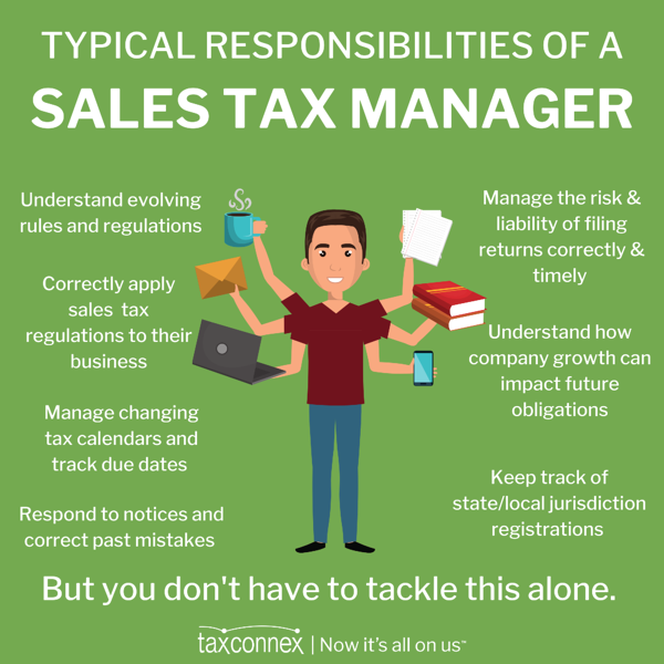 Sales Tax Managers (1)