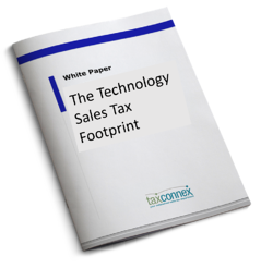White Paper - The Technology Sales Tax Footprint