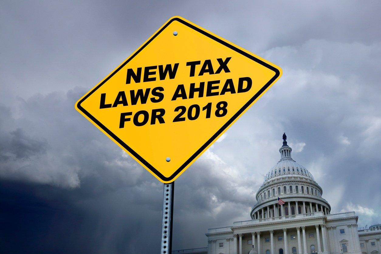 Tax law sign